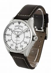 Часы наручные HAMILTON H64615555 KHAKI AVIATION PILOT DAY DATE AUTO