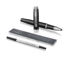 Ручка PARKER 1931658 IM Metal Black CT